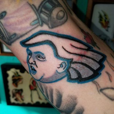 This Is Not Fake News: Someone Has a Trump/Philadelphia Eagles Tattoo