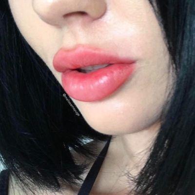 Healed Lips by Melissa Brockfield (via IG-melissamayuge) #cosmetictattoo #lips #makeup #lipblush #lipstick #MelissaBrockfield