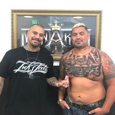 UFC Fighter Mark Hunt Gets a Haunting New Chest Tattoo