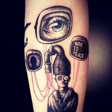 Big Brother is Watching: 1984 Tattoos