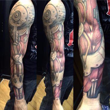 SICK Biomech Tattoos. Seriously, These Tattoos Are SICK.