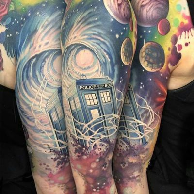 Traveling Through Time and Space with Doctor Who Tattoos