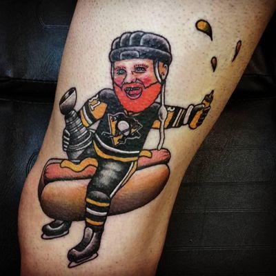 Phil Kessel Riding a Wiener Is the Best Hockey Tattoo Ever