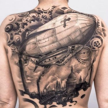 Blimp Tattoos Are Really Taking Off