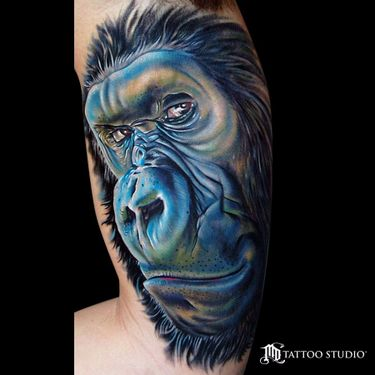 Going Ape For Gorilla Tattoos