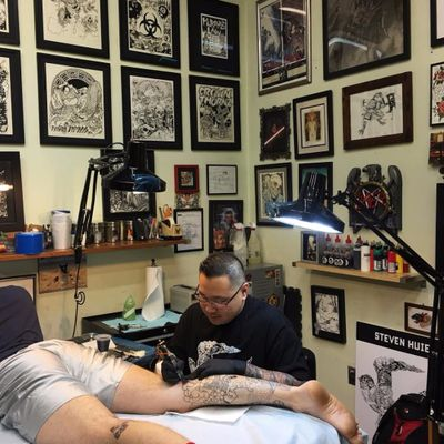 SESSIONS: Steven Huie Talks Art, Inspiration & the NY Tattoo Scene