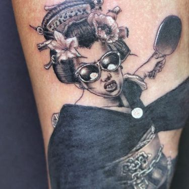 These Ping Pong Tattoos Do The Sport a Great Service