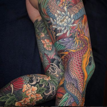 A Sign from the Heavens — Tattoos of the Japanese Phoenix