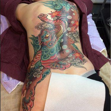 Traditional Japanese Tattoos of the Baku — Devourer of Nightmares