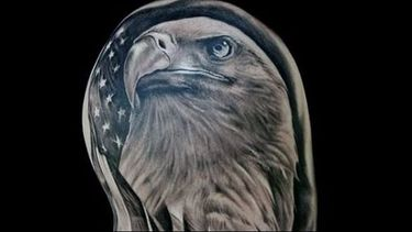Let's Get Patriotic with American Flag Tattoos