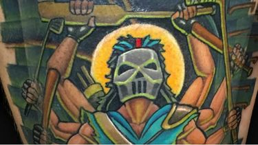 Making The City Safe Again With These Casey Jones Tattoos