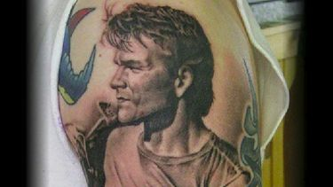 Nobody Puts Patrick Swayze Tattoos In a Corner