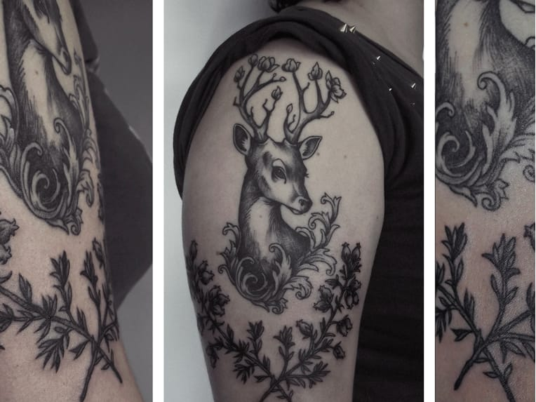 Tattoo por Caroline Jamhour! #CarolineJamhour #TatuadorasBrasileiras #TatuadorasdoBrasil #TattooBR #TattoodoBr