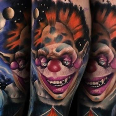 Killer 'Killer Klowns from Outer Space' Tattoos