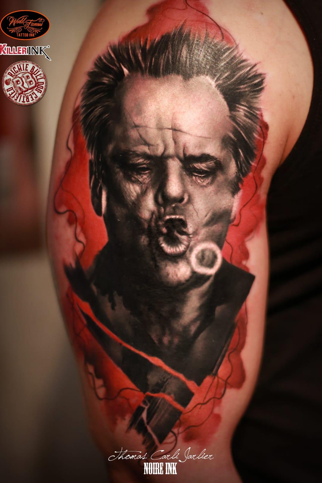 Jack Nicholson #ThomasCarliJarlier #realismo #realism #portrait #retrato #fotorrealismo #blackandgrey #pretoecinza #photorealism #JackNicholson #actor #ator #smoke #fumaça #watercolor #aquarela #man #homem #movie #filme #abstrato #abstract