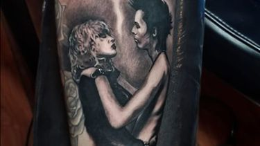 Tattoos of Sid and Nancy — Punk Rock's Most Tempestuous Lovers