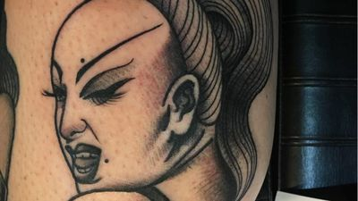 Tattoo Tributes to Divine — the Filthiest Person in the World
