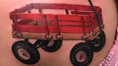 Little Red Wagon Tattoos and a 35 Year Old Unsolved Disappearance
