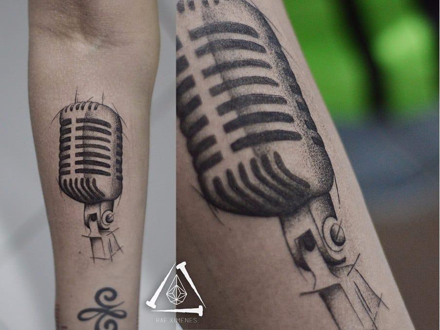 #RafXimenes #musica #music #tatuadoresdobrasil #microfone #mic