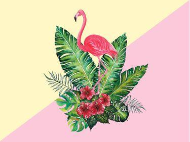 14 Tatuagens De Flamingo Exuberantes