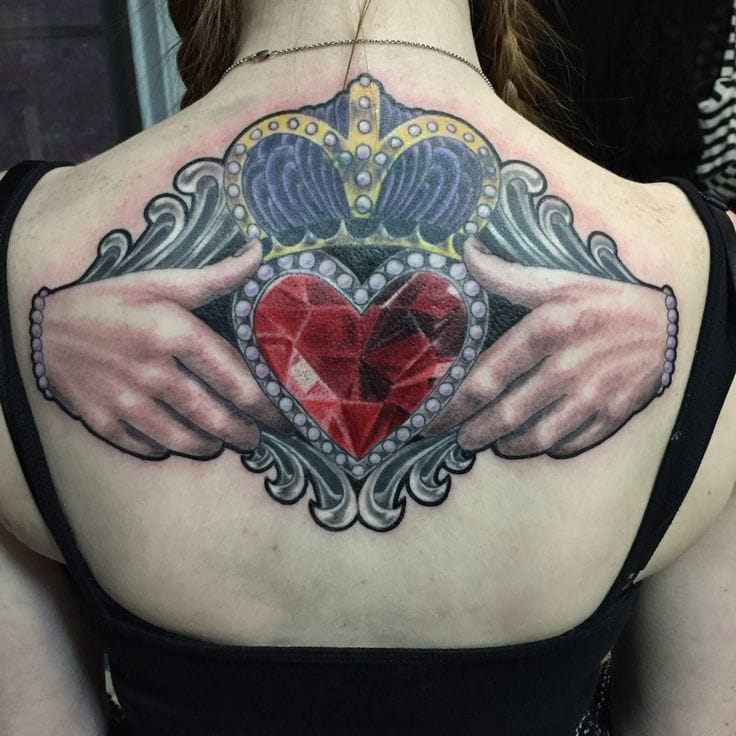 A pure piece of jewel by Travis at Prophecy Ink.