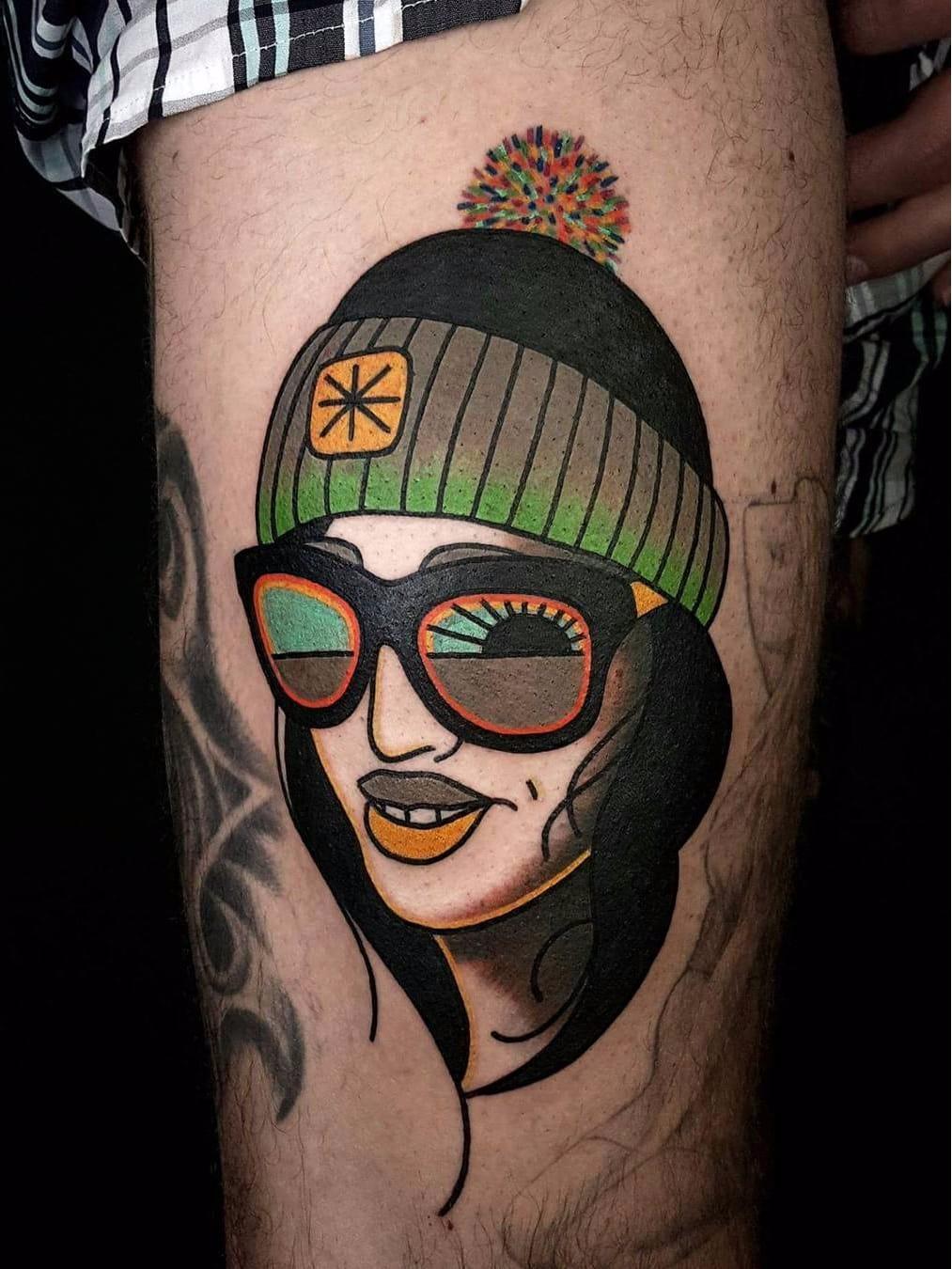 Por David Sz #DavidSz #gringo #psychedelic #psicodelico #colorido #colorful #woman #mulher #sunglass #oculosdesol #sun #sol #degrade #dark
