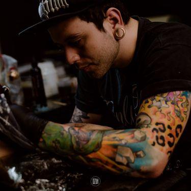 17 Tatuagens Aquarela Do Artista Guilherme Moraes