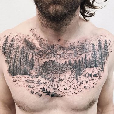 Top of the World Tattoo of the Day