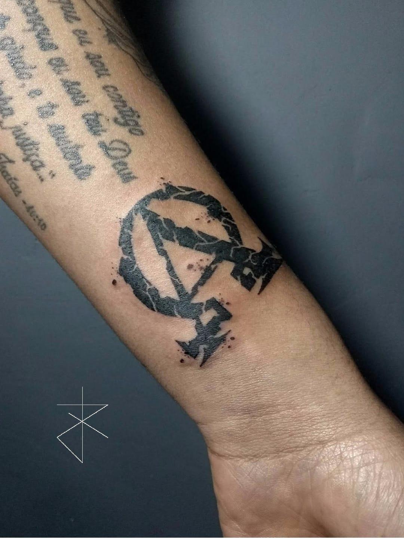 #JoaoCarvalho #JoaoRabiscado #brasil #brazil #brazilianartist #tatuadoresdobrasil #blackwork #alpha #omega #letra #letter