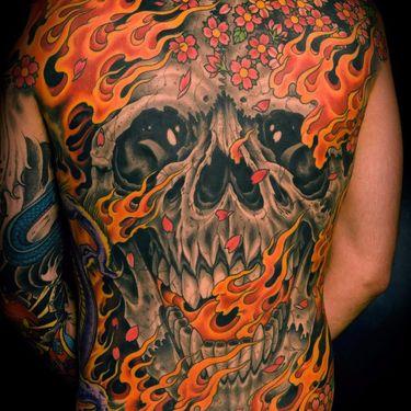 Inner Demons Awaken for Tattoo of the Day
