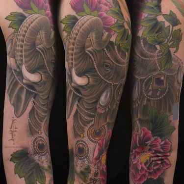 Tattoo of the Day: Animal Tattoos