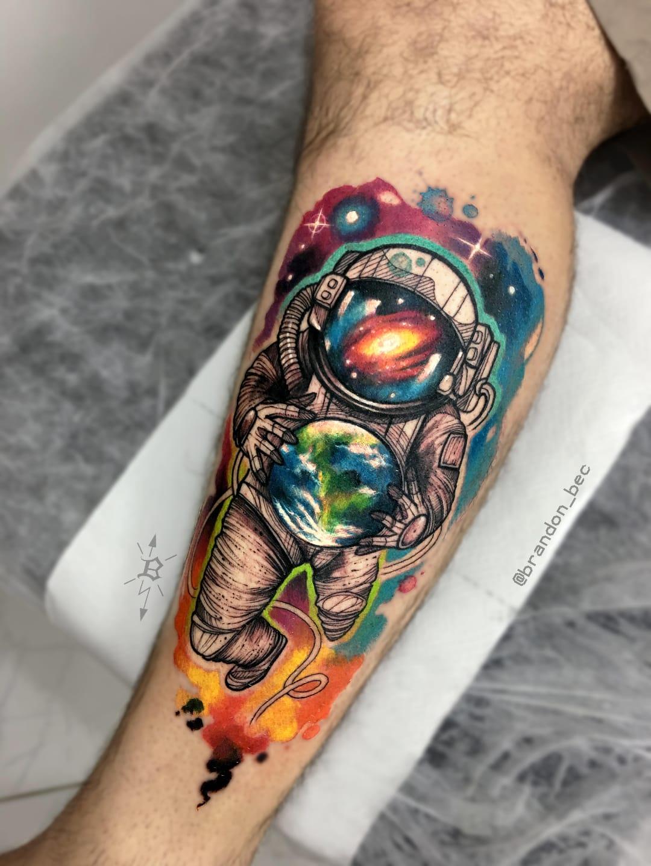 #BrandonBec #brasil #brazil #brazilianartist #colorido #colorful #astronauta #astronaut #planet #planeta #earth #terra #galaxy #galaxia #universo #universe
