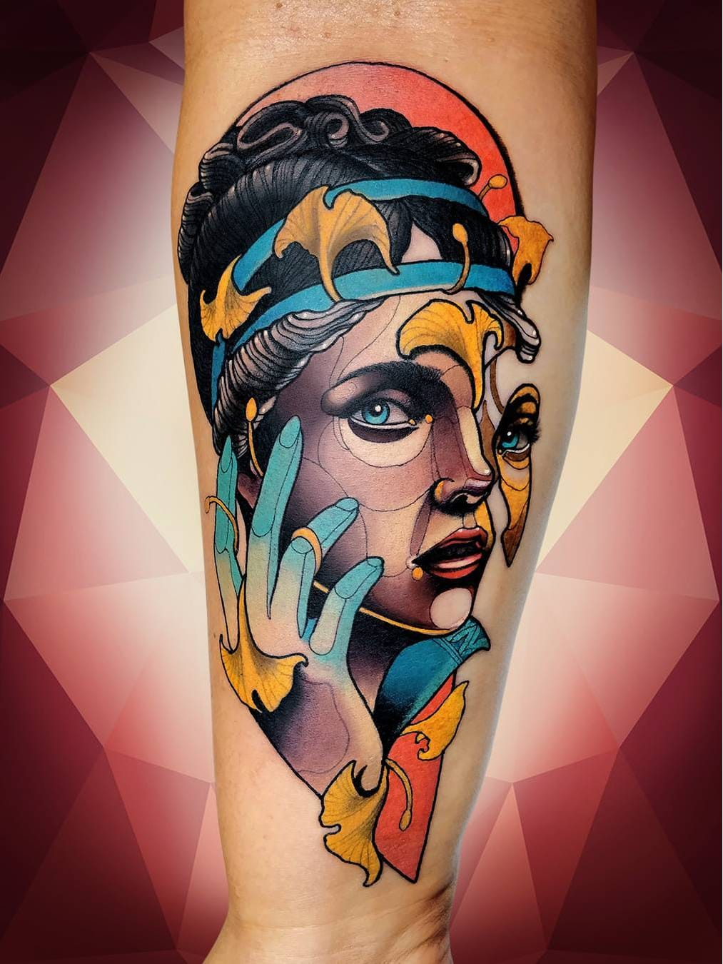 #NiktheRookie #gringo #neotraditional #neotrad #colorido #colorful #woman #mulher