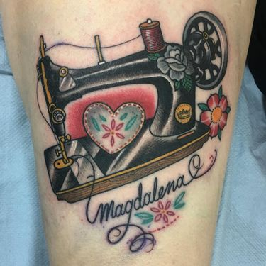 You're Sew Fabulous: Fashion Tattoos for Tattoo of the Day