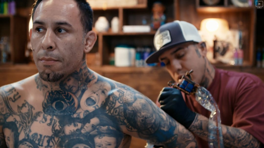 Mikey and Tommy #TommyMontoya #residentartists #thetattooshop #miami #wynwood #tvseries #facebookwatch