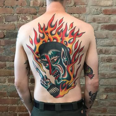 Hell Bound With Fury: Demon Tattoos