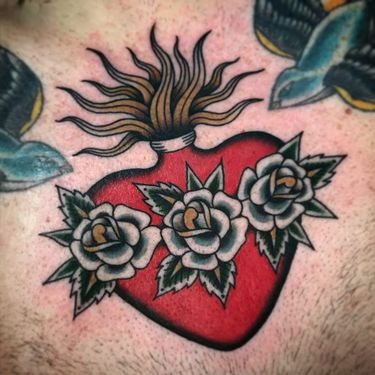 All I Wanna Do Is Make Love: Heart Tattoos For Lovers