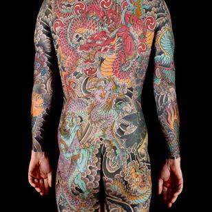 Japanese bodysuit #StewartRobson #ModernClassictattoo #uktattoo