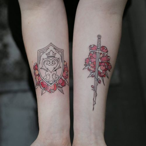 vince red baron tattoos