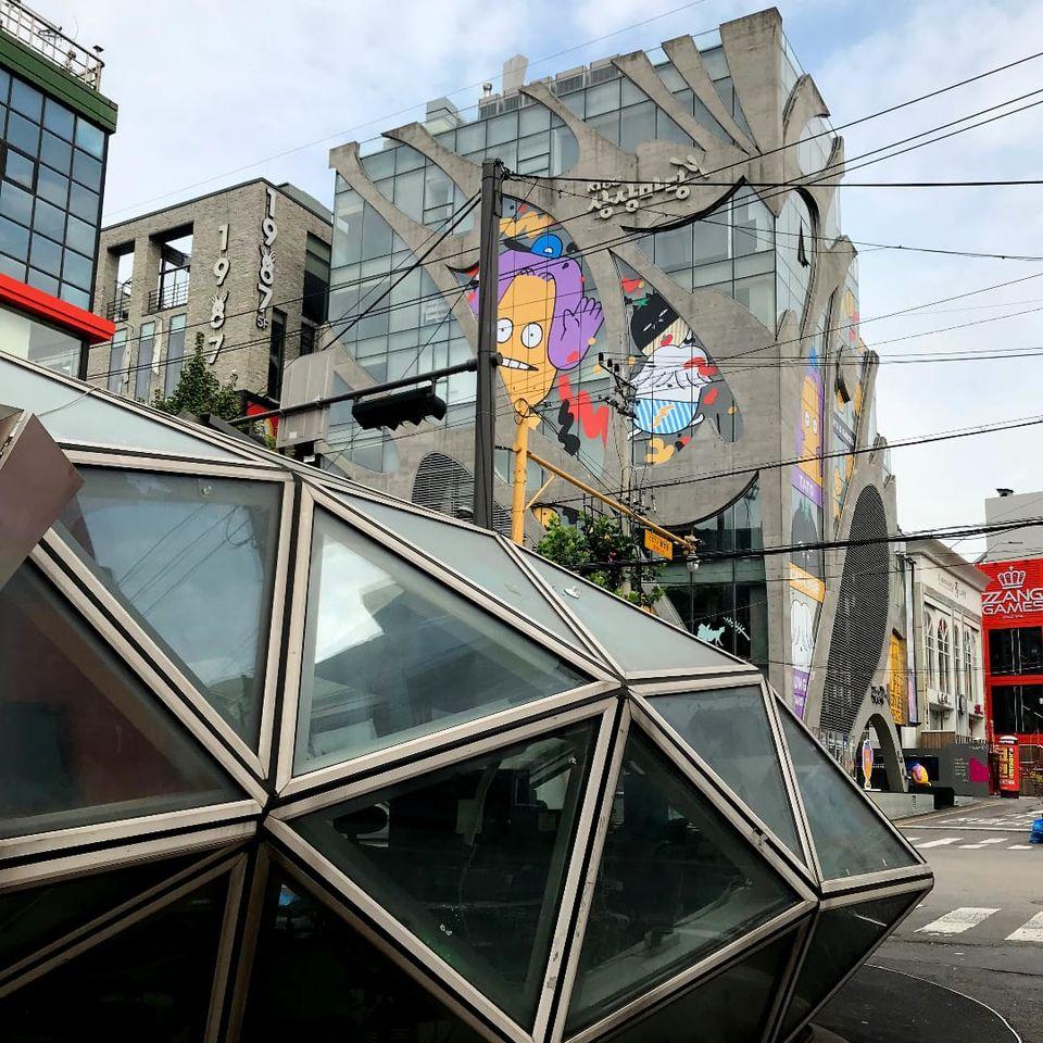 Cool architecture in Seoul, South Korea #Seoul #Korea #TattooedTravels