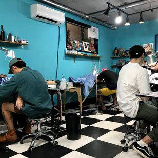 Nerd Club Tattoo #NerdClubTattoo #Seoul #Korea #TattooedTravels