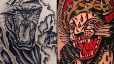 Panther Tattoos: Singin' Those Black Cat Blues