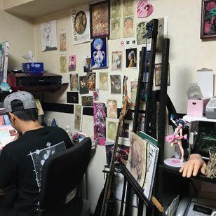Diablo Art: Aki's studio - Tattooed Travels: Tokyo, Japan #TattooedTravels #Tokyo #Japan #DiabloArt #Aki #DiabloArtAki #anime #manga #otaku