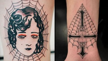 Caught In These Spider Web Tattoos...