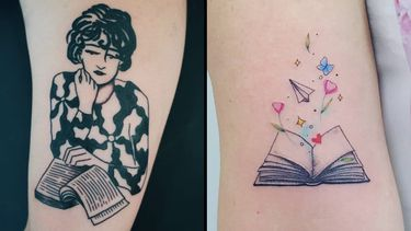 For The Literary Lovers: Book Tattoos