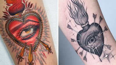 The Burning Devotion Displayed By Sacred Heart Tattoos
