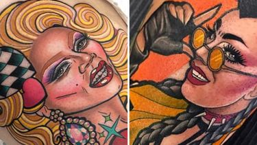 Lip Sync For Your Life: Drag Queen Tattoos