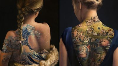 The Skin is a Canvas: Interview with Painter Agnieszka Nienartowicz