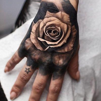 #Onlythebesttattooart #tattoo #ink #cristianrodrigueztattoos #blackandgrey #realism #surrealism #dotwork #ornamental #gemetric #colortattoo #handtattoo #rosetattoo #fuerteventura #canaryislans