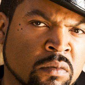 Ice Cube with a Three Dot Tattoo #threedottattoo #Meaningfultattoo